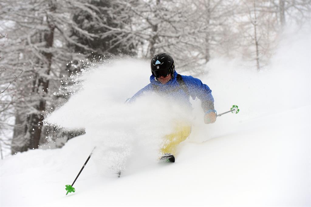 Ski freeride hors pistes à Courmayeur