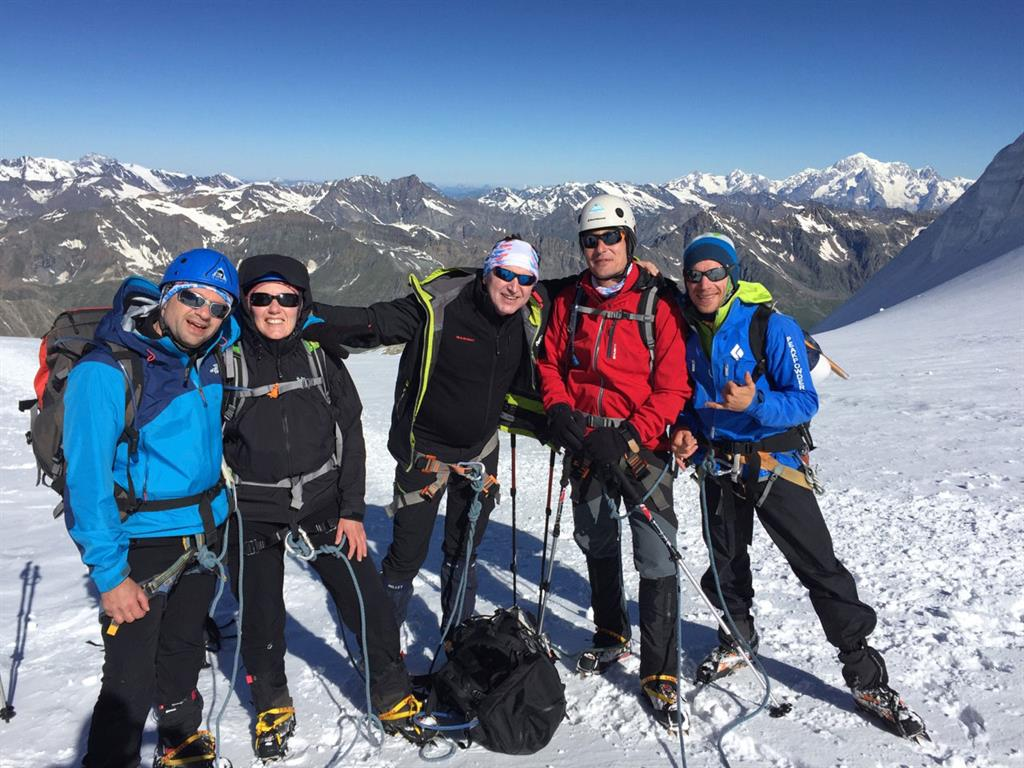 initiation alpinisme sur Chamonix