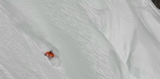 ski hors piste poudreuse