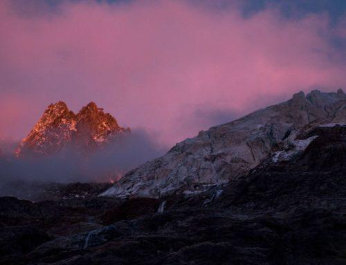 Magie des alpes en automne