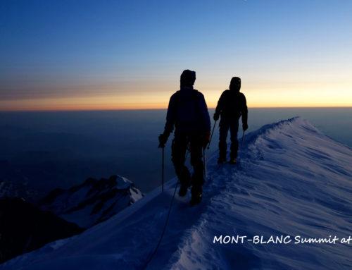 Retour en montagne!